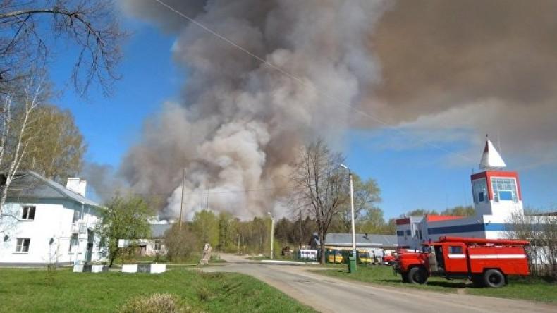 В Удмуртии эвакуируют поселок из-за взрывающихся боеприпасов