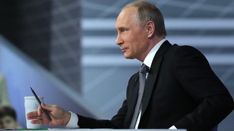Прямая линия с президентом России стала самой непопулярной с 2011 года