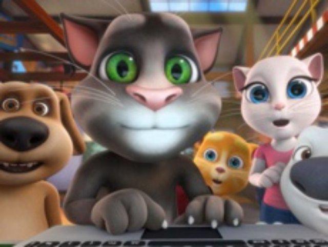 Китайские промышленники потратили миллиард евро на говорящего кота Тома