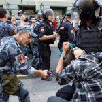 В России прошли акции против повышения пенсионного возраста