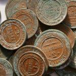 В Москве найден клад из медных монет
