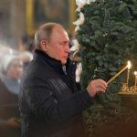 Путин посетил Петропавловскую крепость