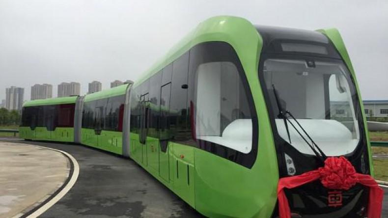 В Москве пройдут испытания российского беспилотного трамвая