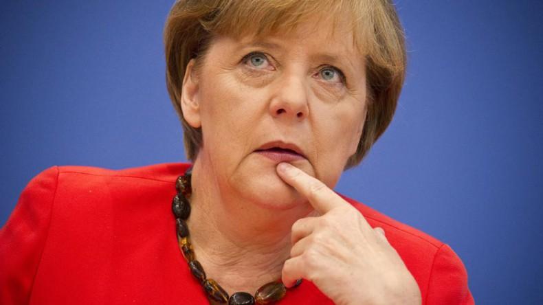 Ангеле Меркель вновь стало плохо