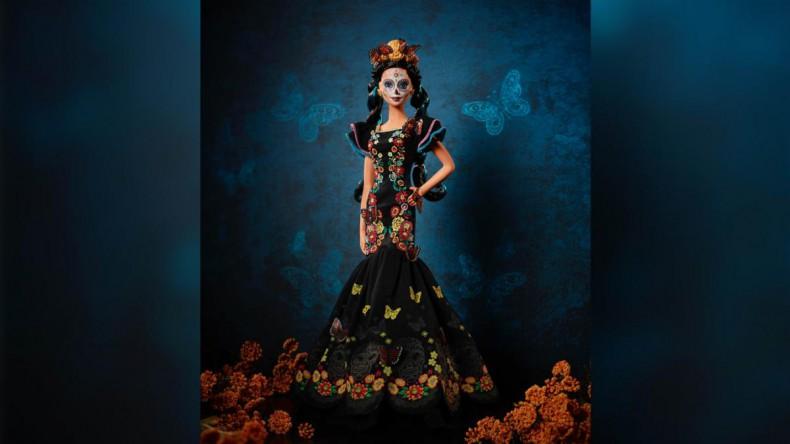 Вышла коллекционная кукла Барби, посвящённая Дню мёртвых