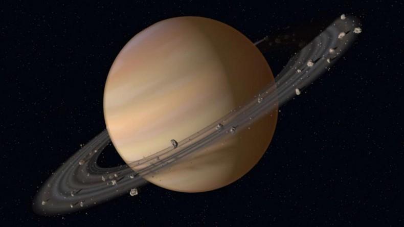 Ученые объявили конкурс на лучшее название для 20 открытых спутников Сатурна