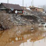 В Красноярском крае на месте обрушившихся дамб построили временные