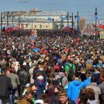 Естественная убыль населения России составила 259,6 тысячи человек