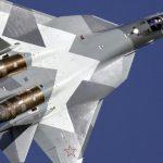 Истребитель Су-57 разбился во время учений