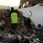 Число погибших в Алма-Ате из-за крушения самолёта выросло