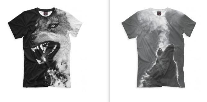 Классические принты на футболках