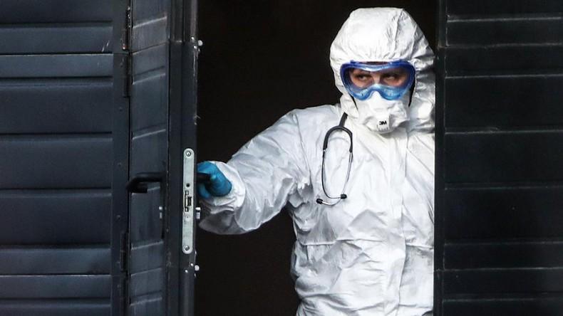 В России зарегистрированы 1154 новых случая коронавирусной инфекции