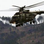 На Чукотке произошло крушение военно-транспортного вертолета Ми-8