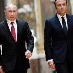 МИД Франции расследует, почему разговор Путина и Микрона попал в СМИ